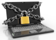 chained-laptop
